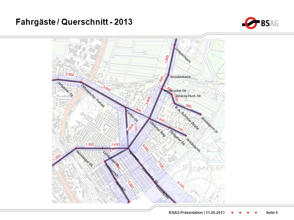 Fahrgäste / Querschnitt - 2013