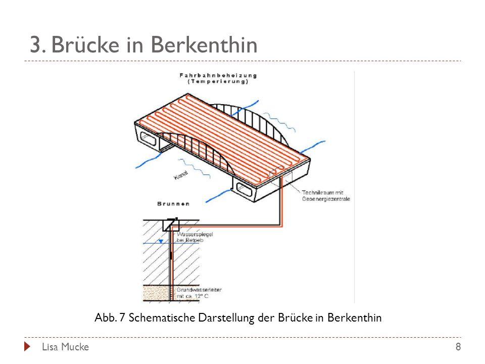 Abb. 7 Schematische Darstellung der Brücke in Berkenthin