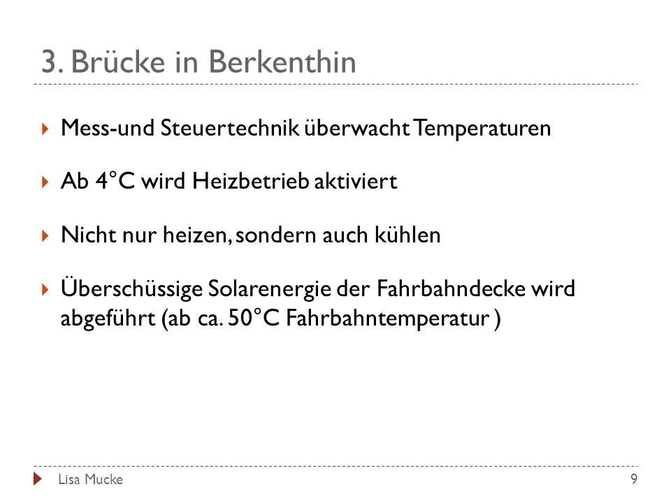 3. Brücke in Berkenthin Mess-und Steuertechnik überwacht Temperaturen