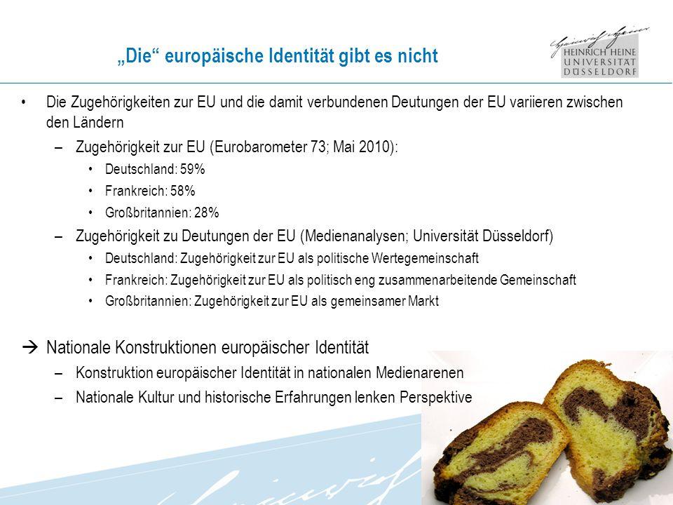 """""""Die europäische Identität gibt es nicht"""