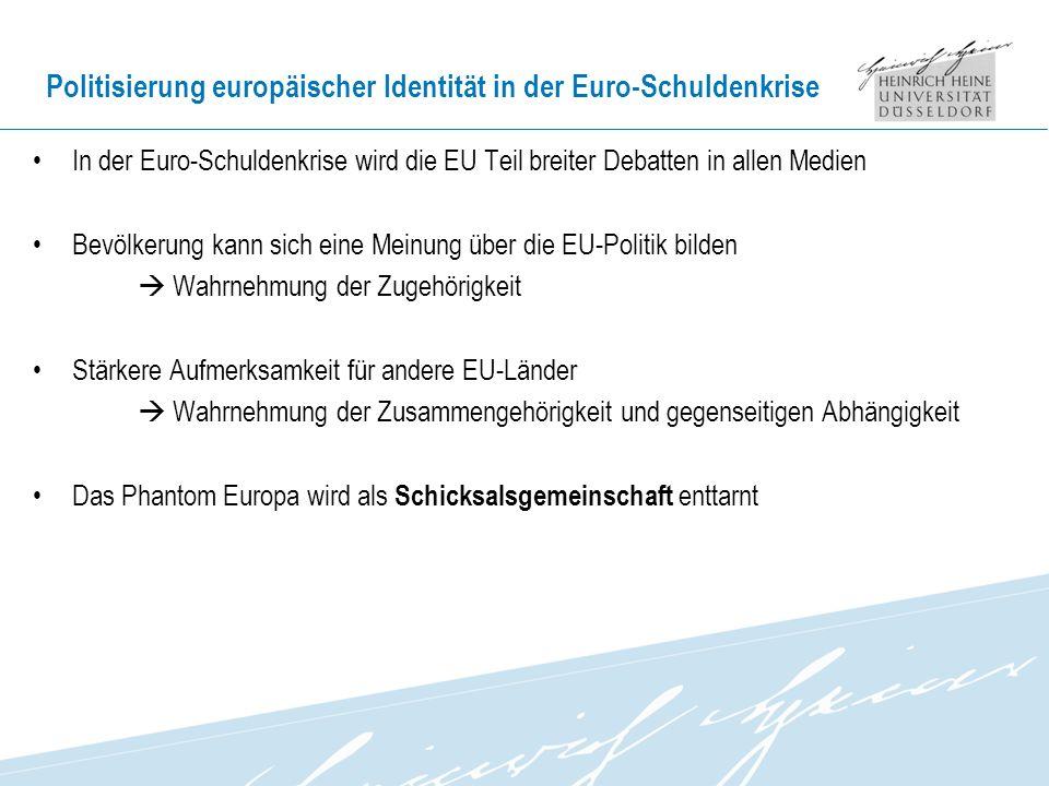 Politisierung europäischer Identität in der Euro-Schuldenkrise