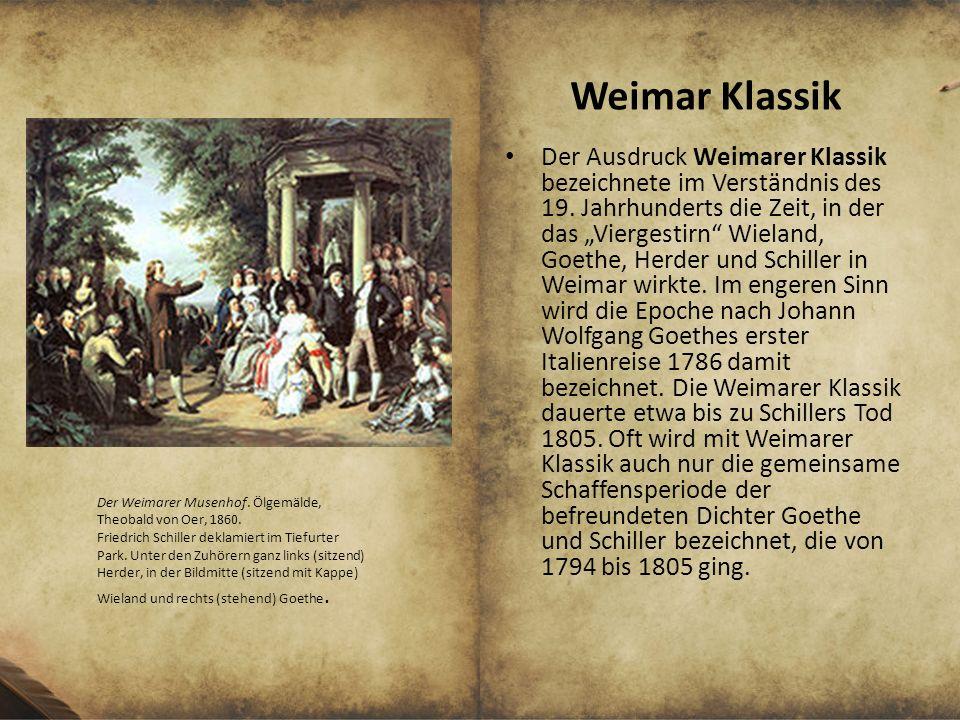 Weimar Klassik