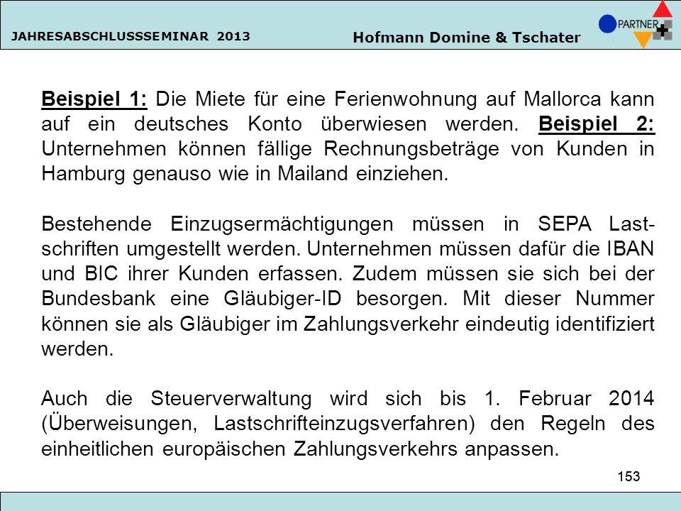 Beispiel 1: Die Miete für eine Ferienwohnung auf Mallorca kann auf ein deutsches Konto überwiesen werden. Beispiel 2: Unternehmen können fällige Rechnungsbeträge von Kunden in Hamburg genauso wie in Mailand einziehen.