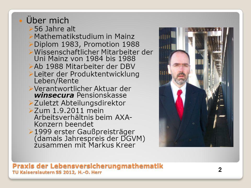 Über mich 56 Jahre alt Mathematikstudium in Mainz