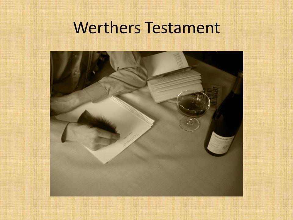 Werthers Testament