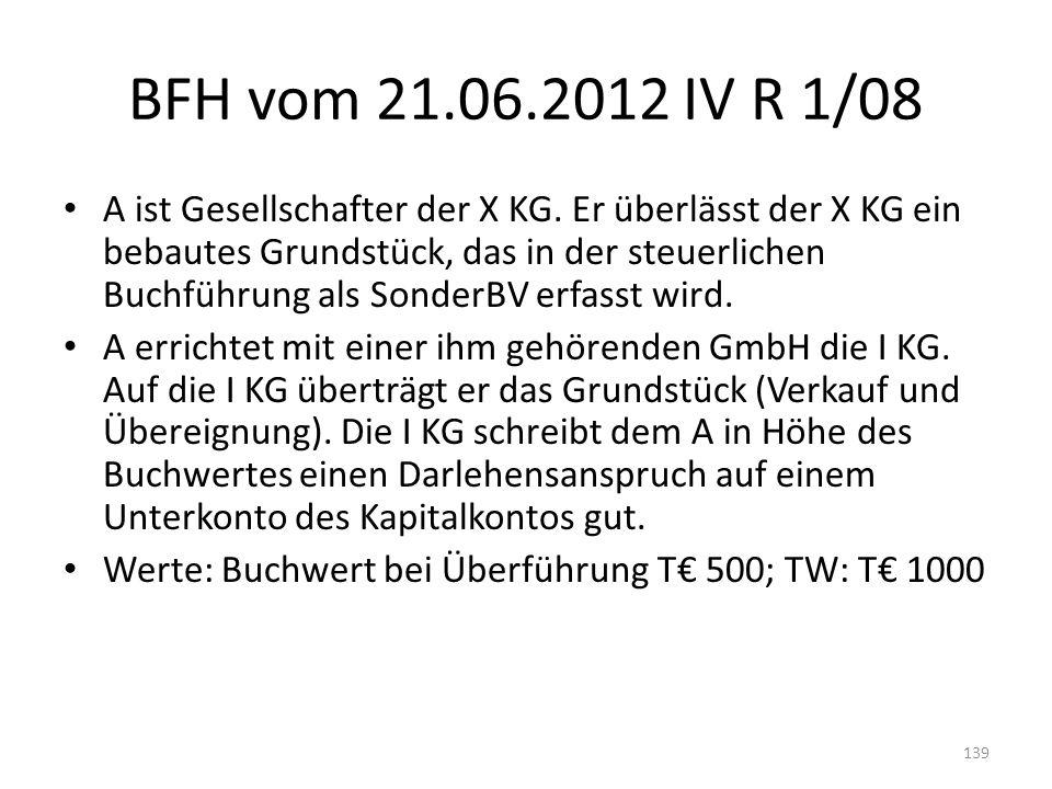BFH vom 21.06.2012 IV R 1/08