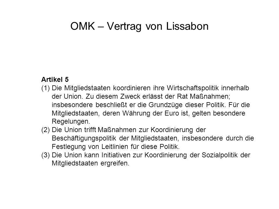 OMK – Vertrag von Lissabon