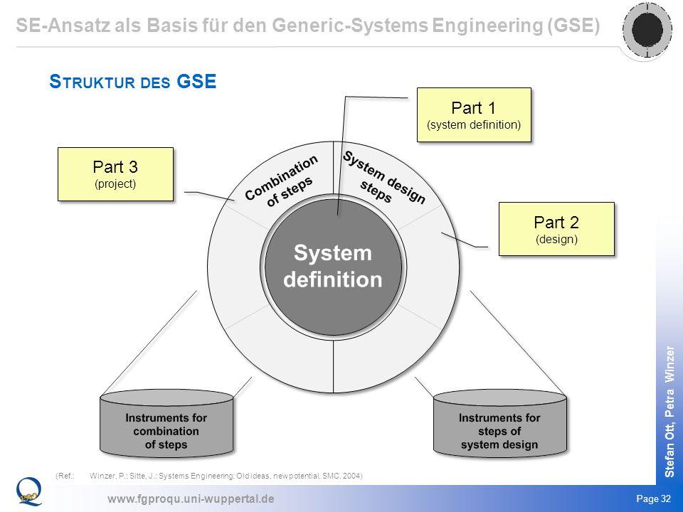Part 1 (system definition)