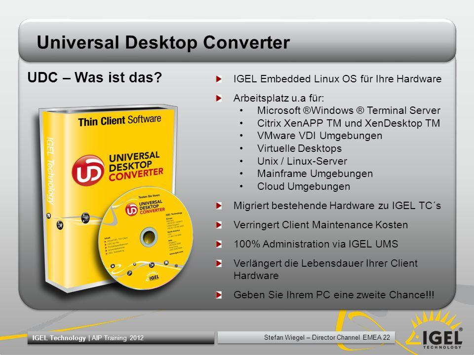 Universal Desktop Converter
