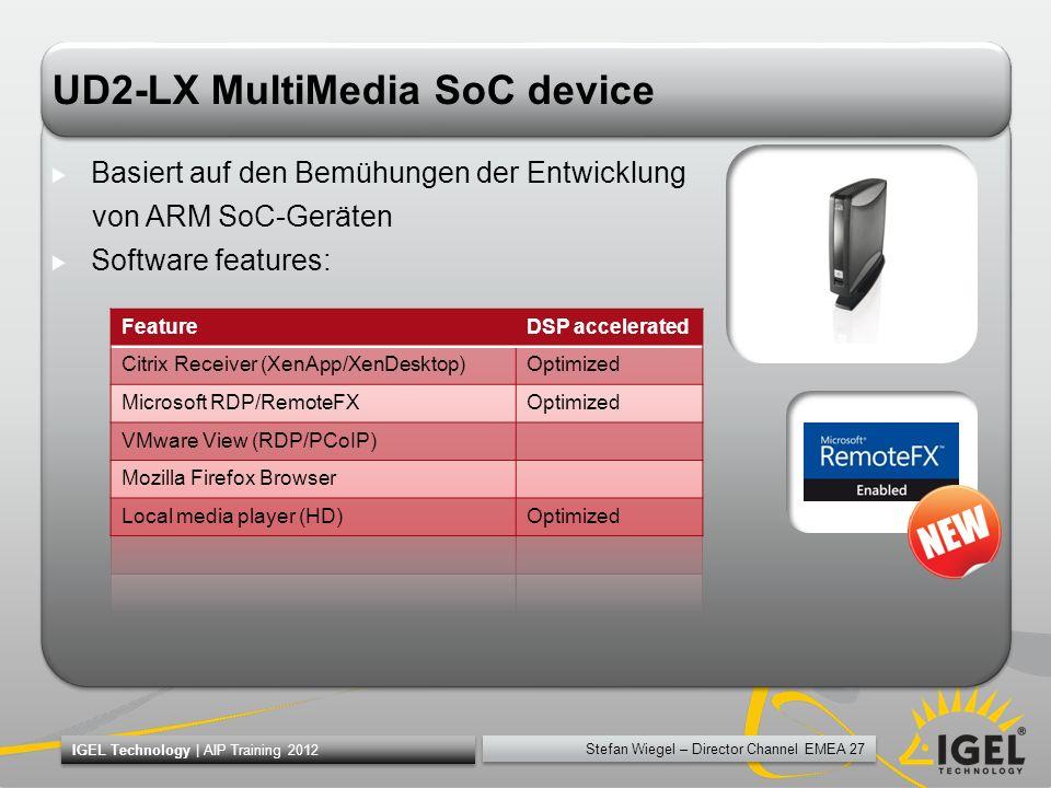 UD2-LX MultiMedia SoC device