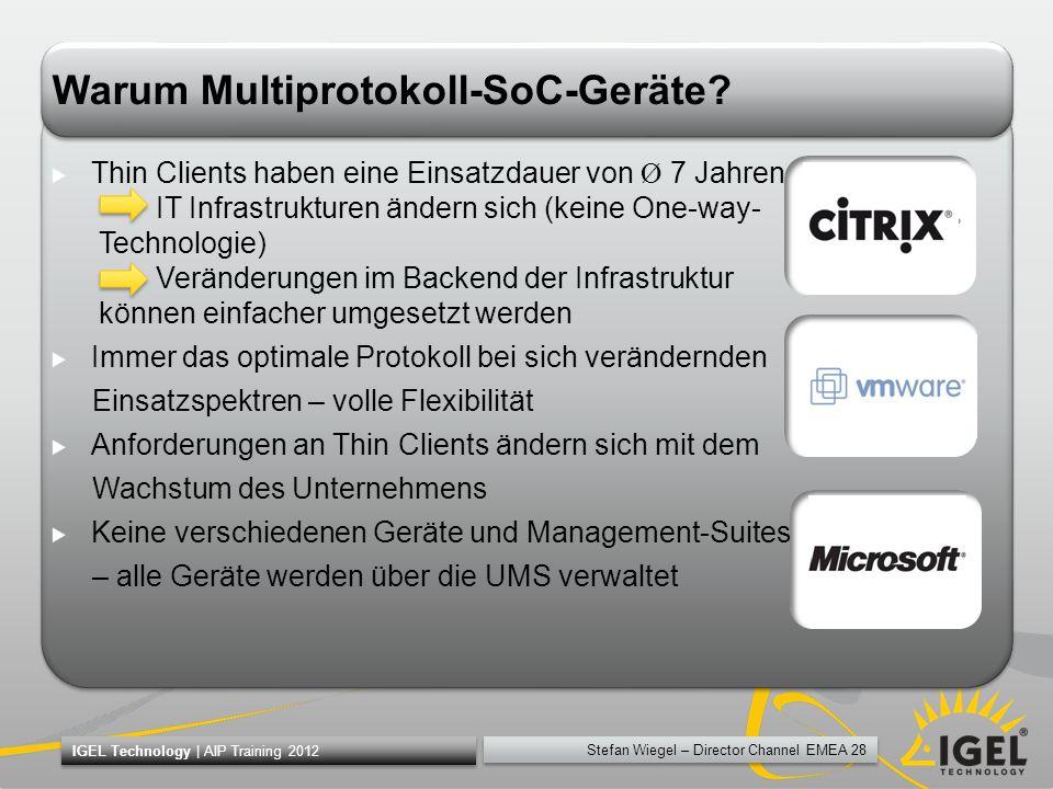 Warum Multiprotokoll-SoC-Geräte