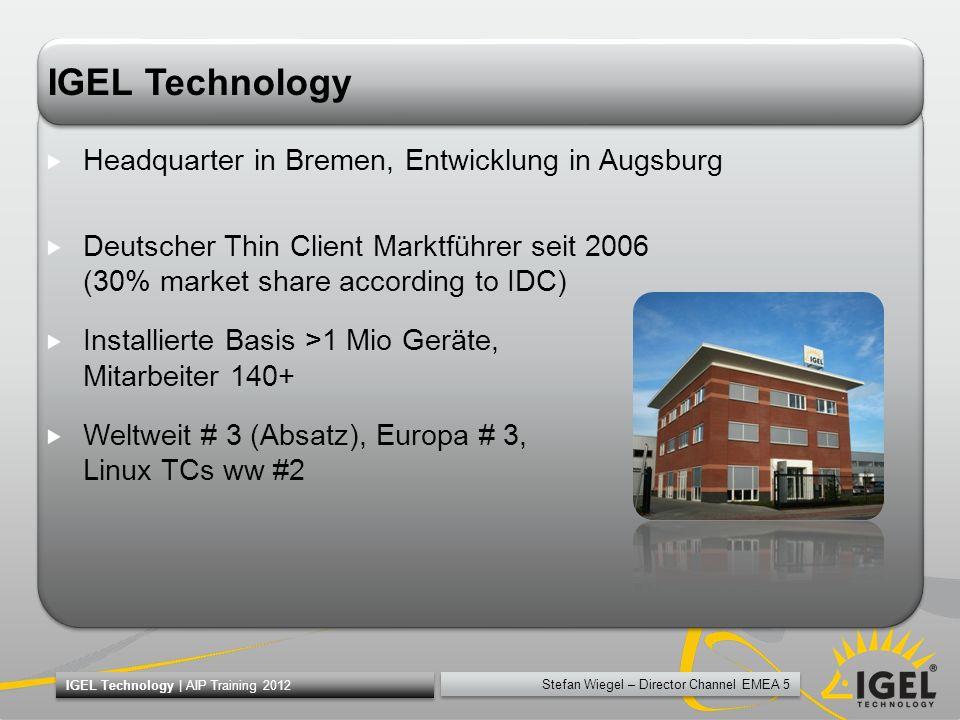 IGEL Technology Headquarter in Bremen, Entwicklung in Augsburg