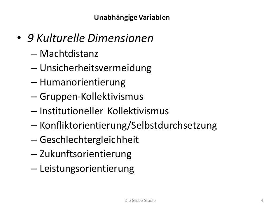 9 Kulturelle Dimensionen