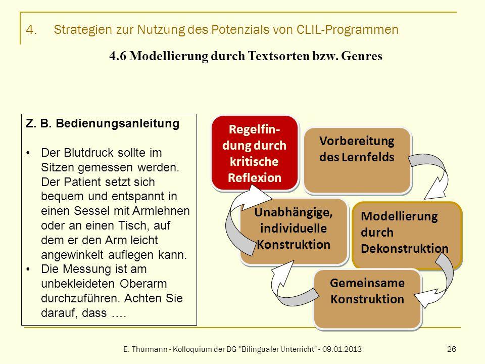 4. Strategien zur Nutzung des Potenzials von CLIL-Programmen