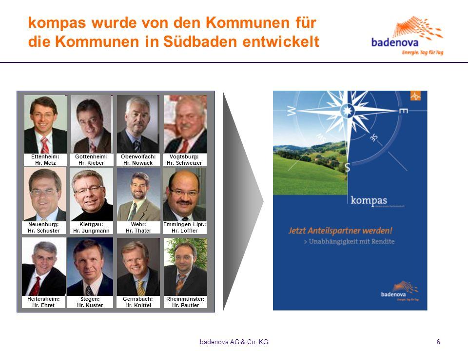 kompas wurde von den Kommunen für die Kommunen in Südbaden entwickelt