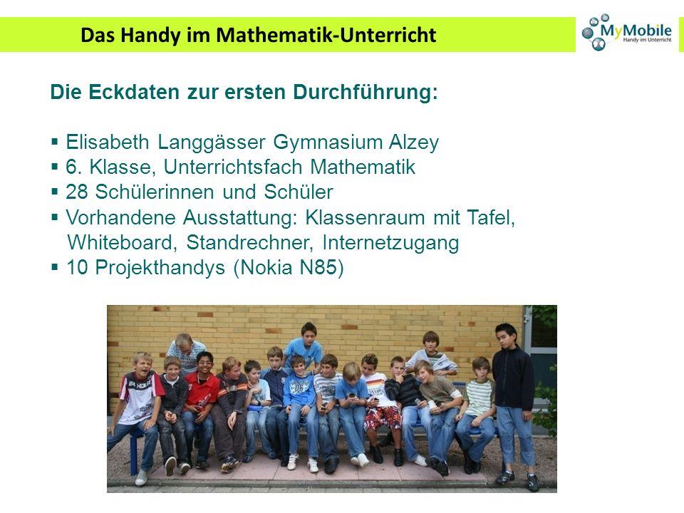 Das Handy im Mathematik-Unterricht