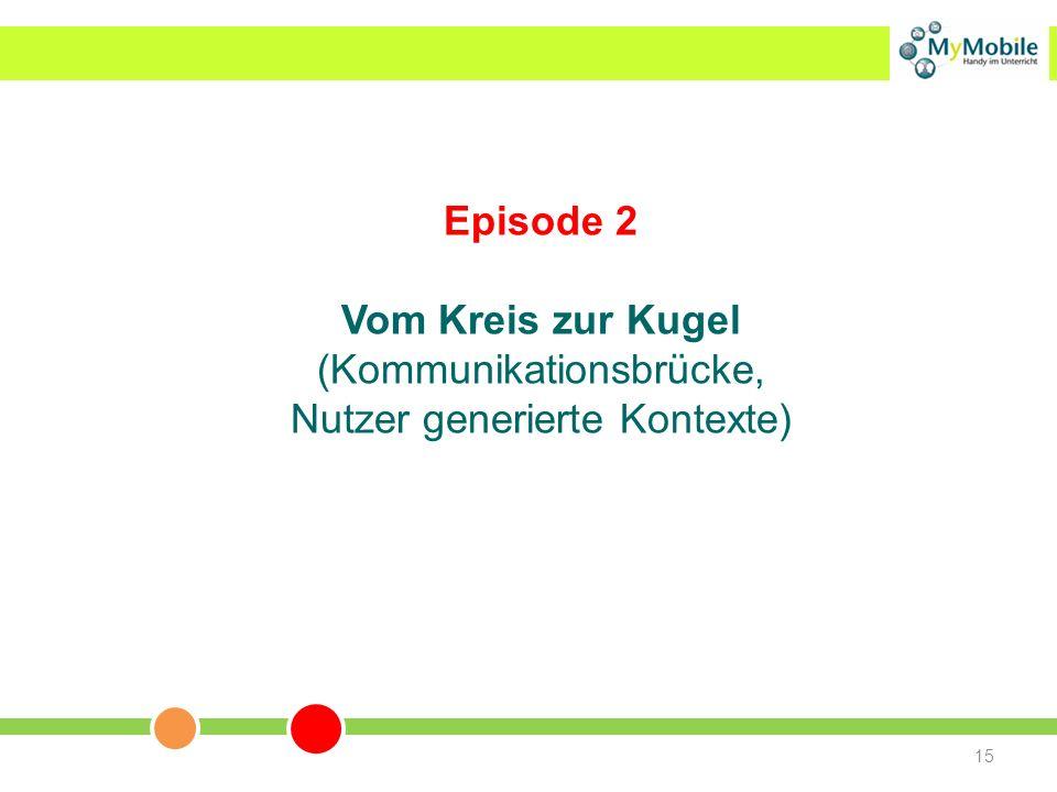 Episode 2 Vom Kreis zur Kugel