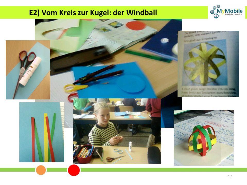 E2) Vom Kreis zur Kugel: der Windball