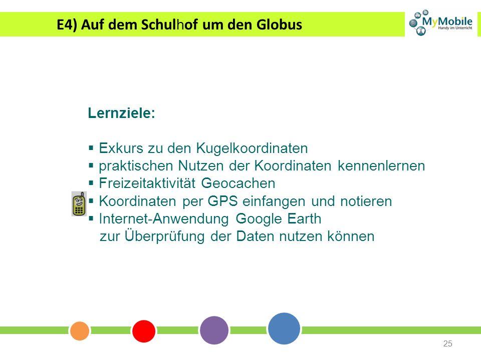 E4) Auf dem Schulhof um den Globus