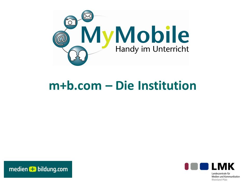 m+b.com – Die Institution