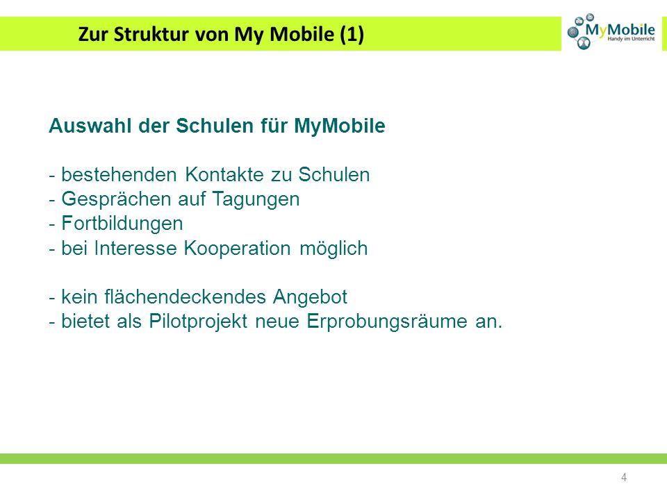 Zur Struktur von My Mobile (1)