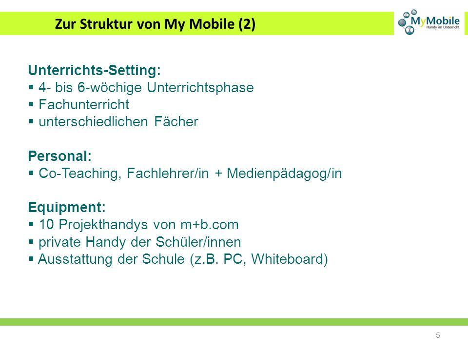 Zur Struktur von My Mobile (2)