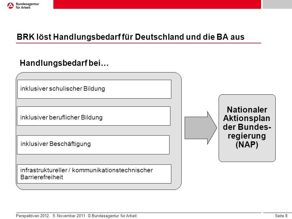 BRK löst Handlungsbedarf für Deutschland und die BA aus