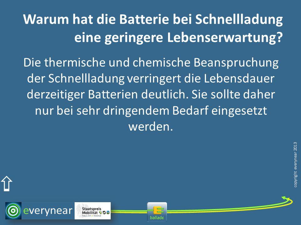Warum hat die Batterie bei Schnellladung eine geringere Lebenserwartung