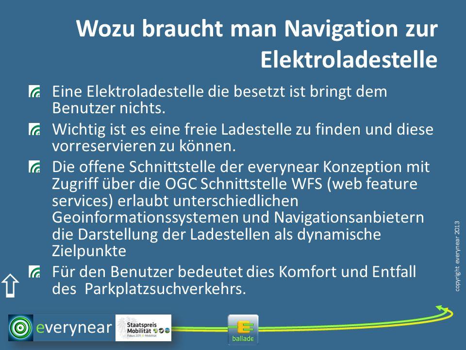 Wozu braucht man Navigation zur Elektroladestelle