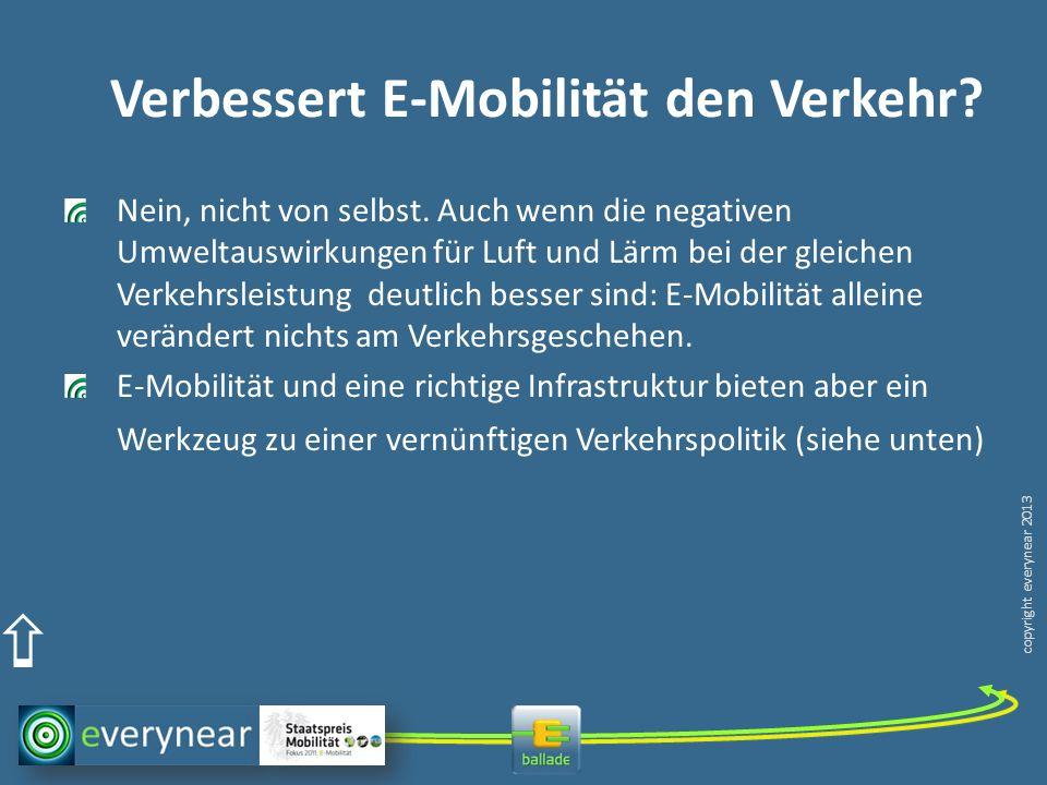 Verbessert E-Mobilität den Verkehr