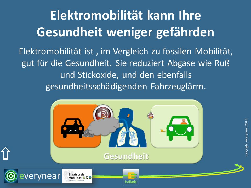 Elektromobilität kann Ihre Gesundheit weniger gefährden