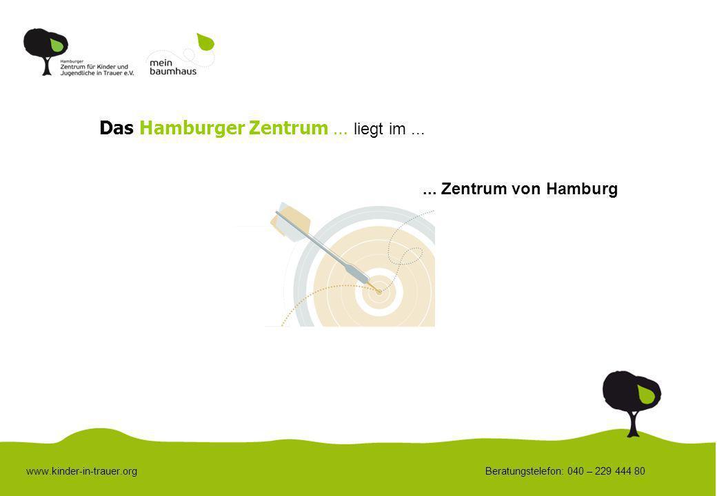 Das Hamburger Zentrum … liegt im ...