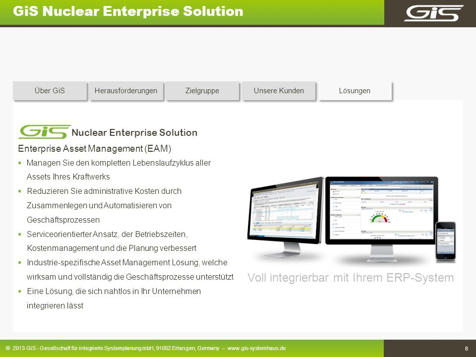 GiS Nuclear Enterprise Solution