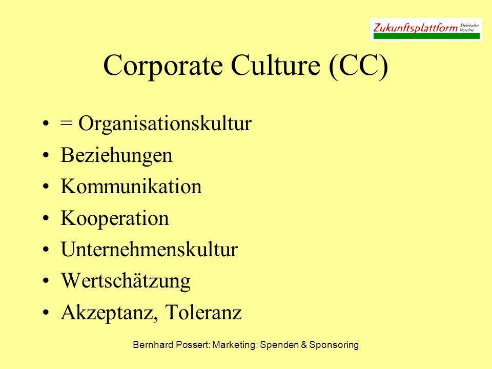 Corporate Culture (CC)