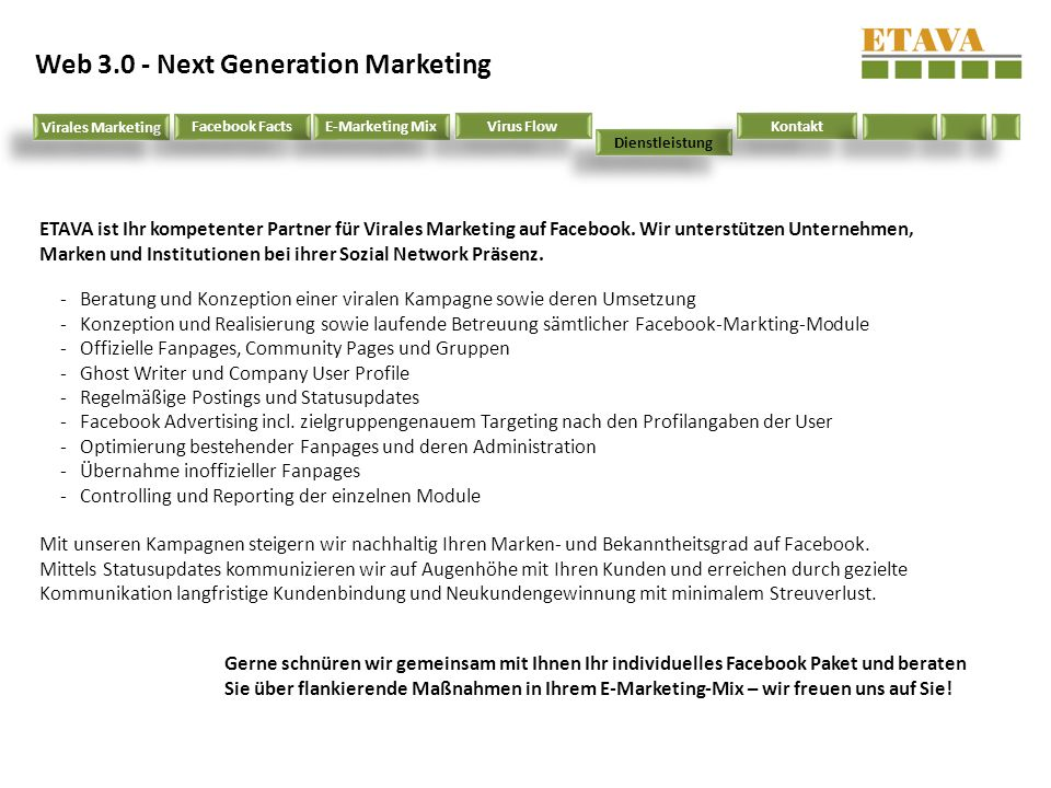 Web 3.0 - Next Generation Marketing