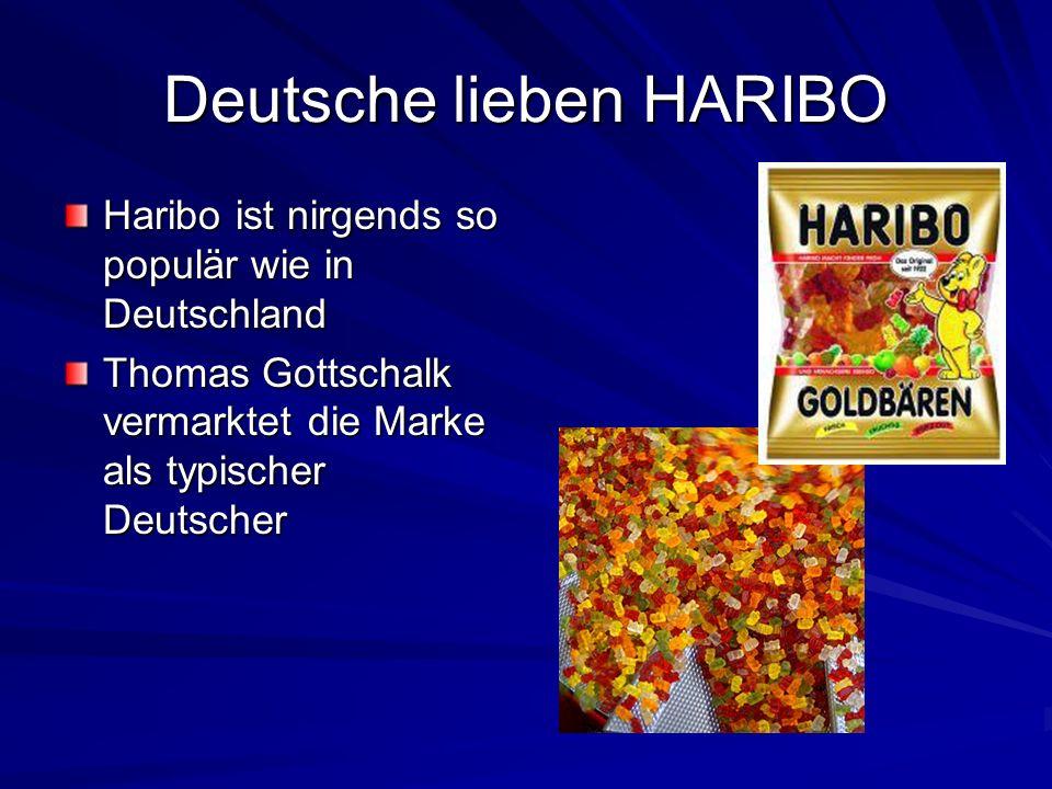 Deutsche lieben HARIBO