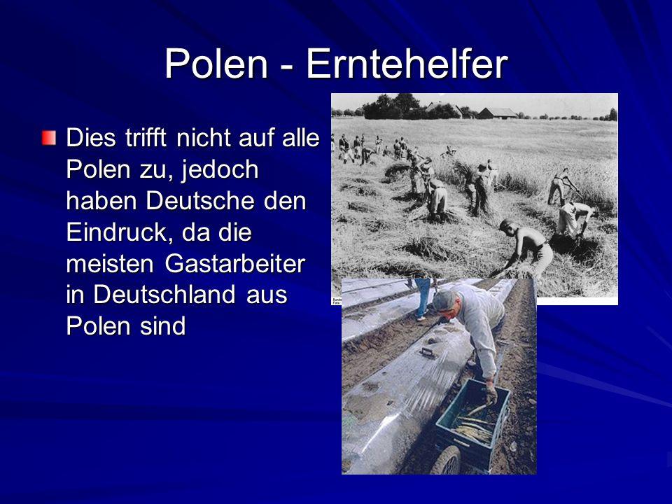 Polen - Erntehelfer