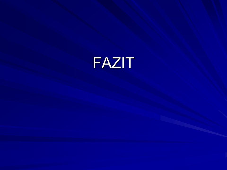 FAZIT