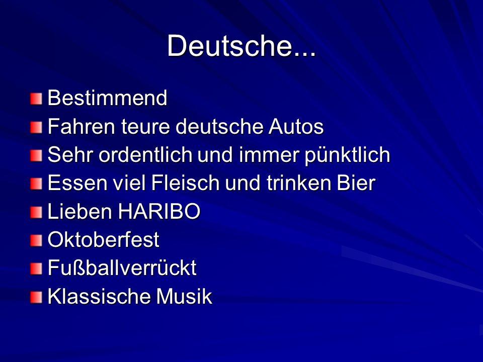 Deutsche... Bestimmend Fahren teure deutsche Autos