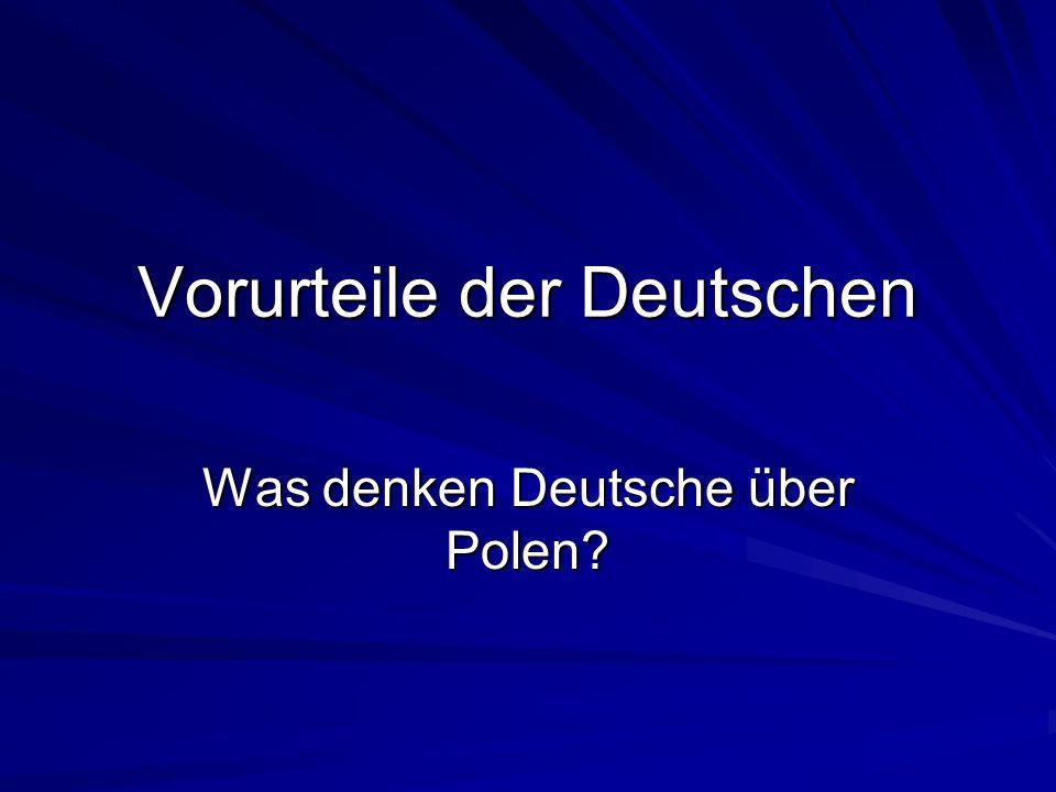 Vorurteile der Deutschen