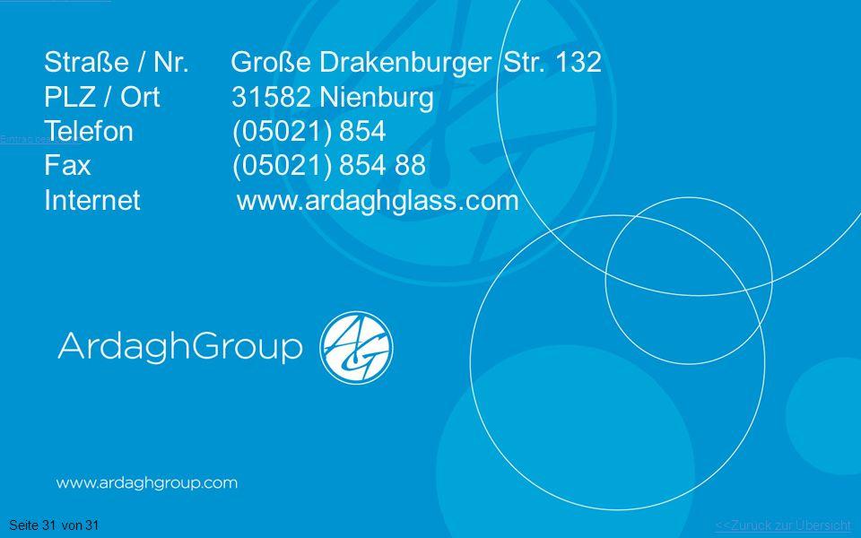 Straße / Nr. Große Drakenburger Str. 132 PLZ / Ort 31582 Nienburg