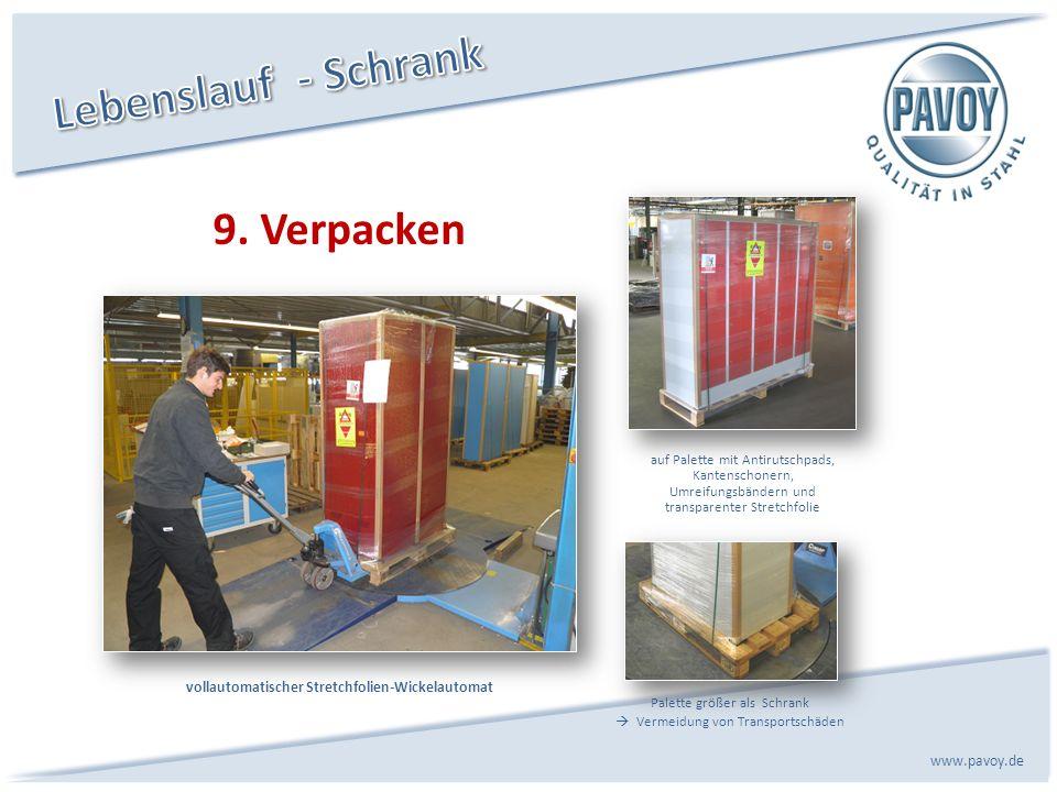 vollautomatischer Stretchfolien-Wickelautomat