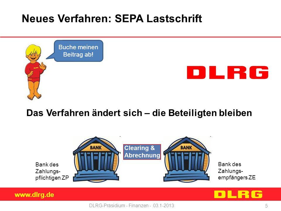 Neues Verfahren: SEPA Lastschrift