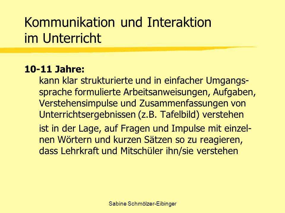 Kommunikation und Interaktion im Unterricht