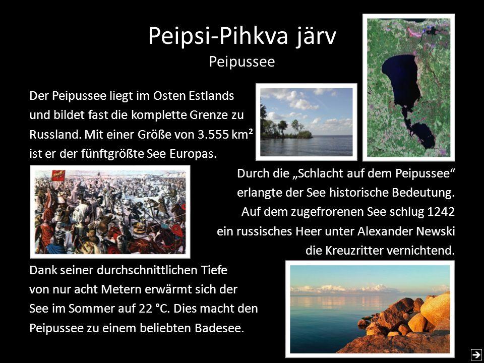 Peipsi-Pihkva järv Peipussee