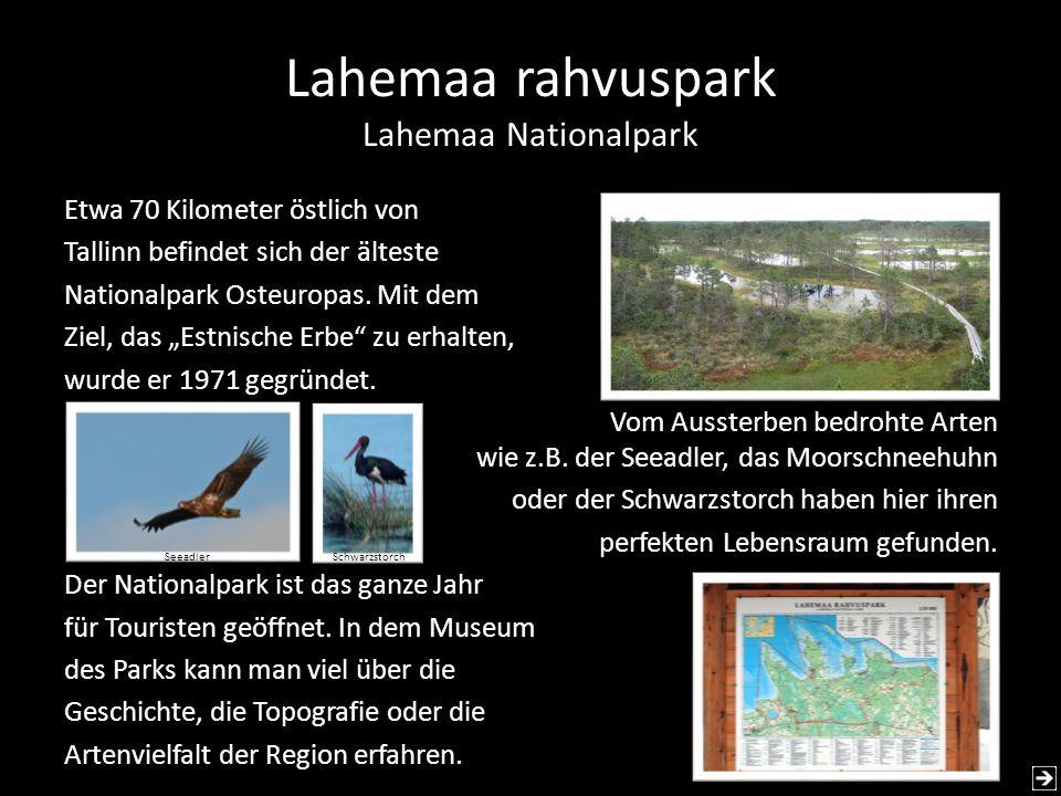 Lahemaa rahvuspark Lahemaa Nationalpark