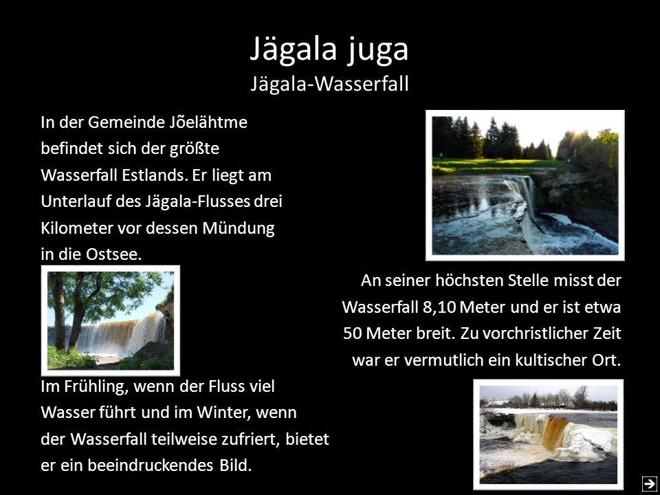 Jägala juga Jägala-Wasserfall