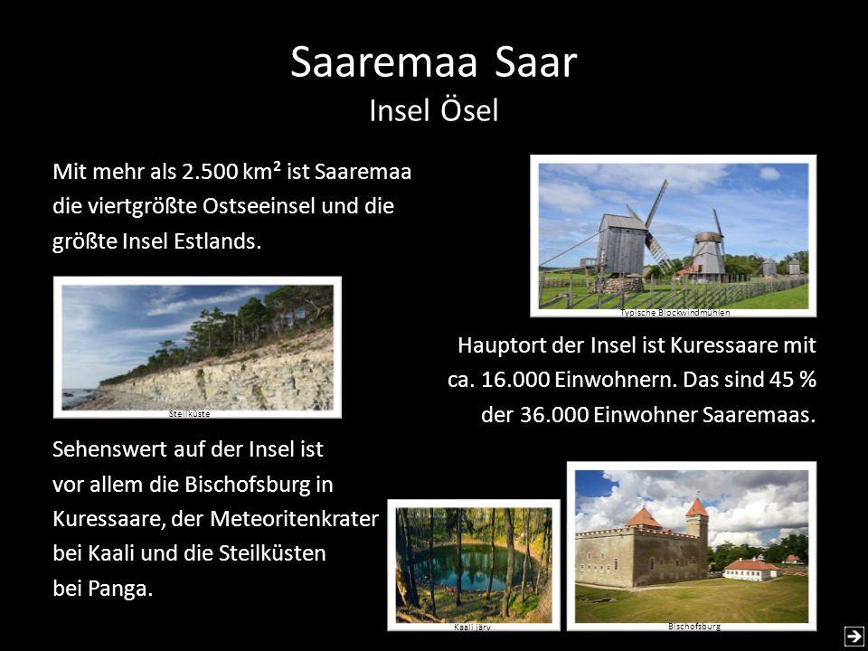 Saaremaa Saar Insel Ösel