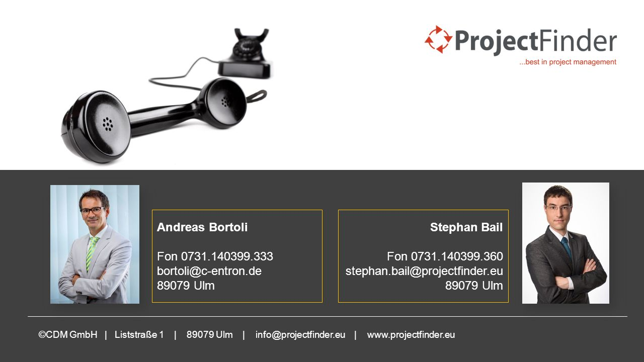 Ihre Ansprechpartner Andreas Bortoli