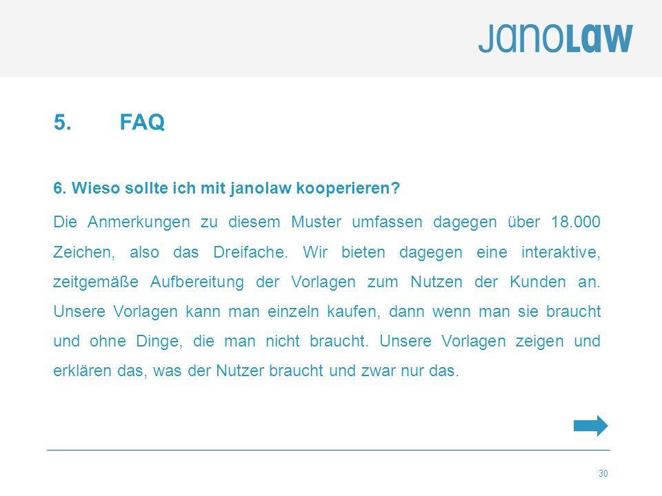 5. FAQ